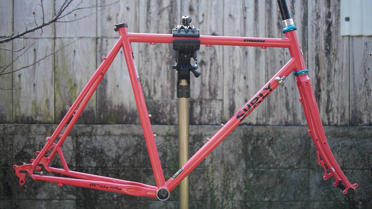 surly Straggler SALMON CANDY RED