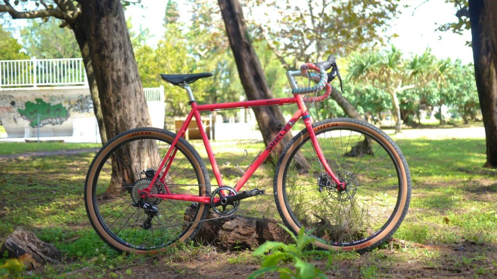 Surly Straggler Salmon Candy Red 650B 52cm